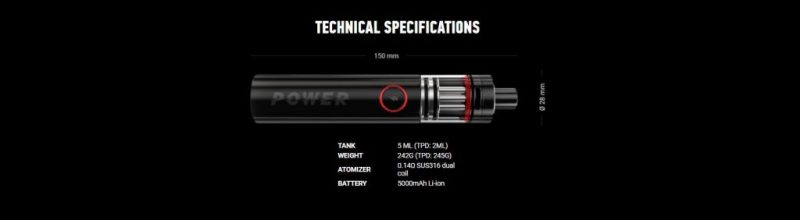 aramax power tech specs