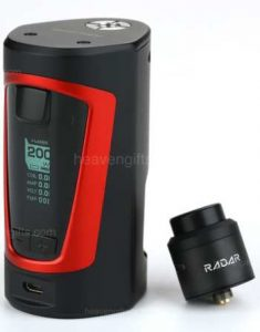 Best UK price for GBOX Squonker MOD kit with Radar RDA