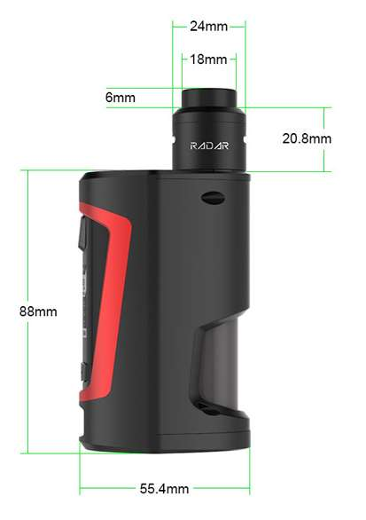 GBOX Squonker MOD kit parameters