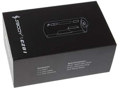 SBody VapeDroid C2D1 167W box