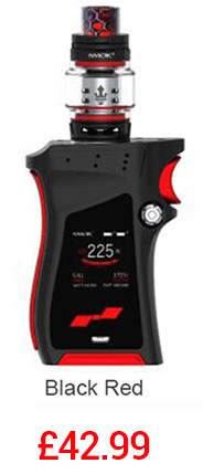 SMOK Mag Kit with TFV12 Tank in Black and Red