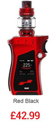 SMOK Mag Kit with TFV12 Tank in Red