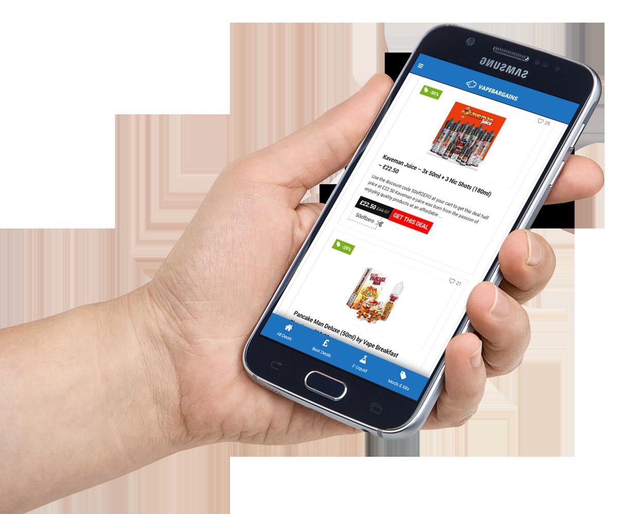 Vape Deals and Offers App
