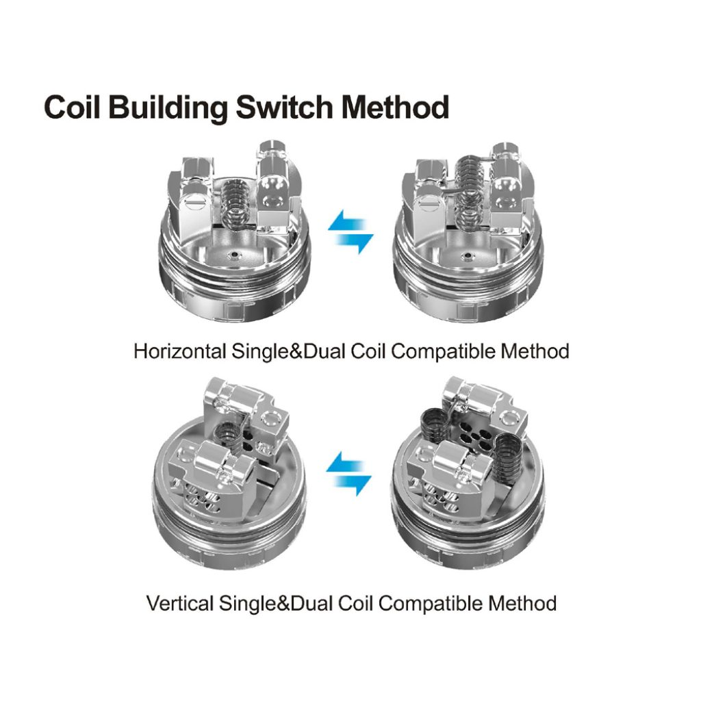 Oumier VLS RDA coil building switch method