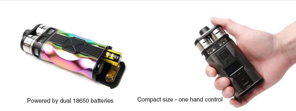 Tesla CP Couples 220W Mod Kit 8ml