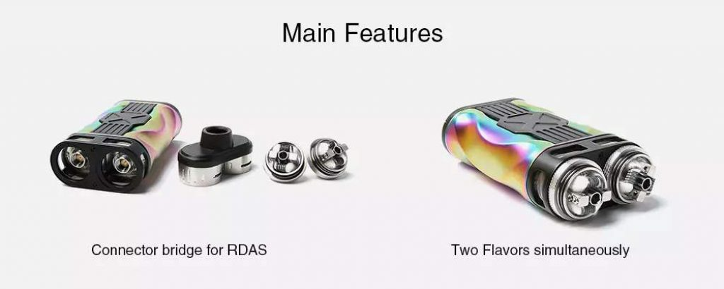 Tesla CP Couples Two RDTA flavours same time UK