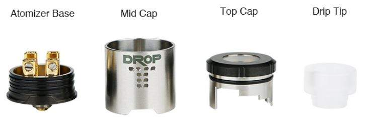 Digiflavor DROP RDA Individual Parts