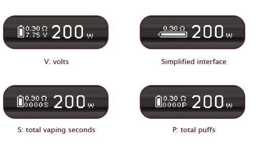 Eleaf 200w iStick QC 5000mAh mod Switchable Interfaces