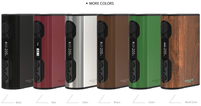 Eleaf iStick QC 5000mAh 200w Box Mod Colours