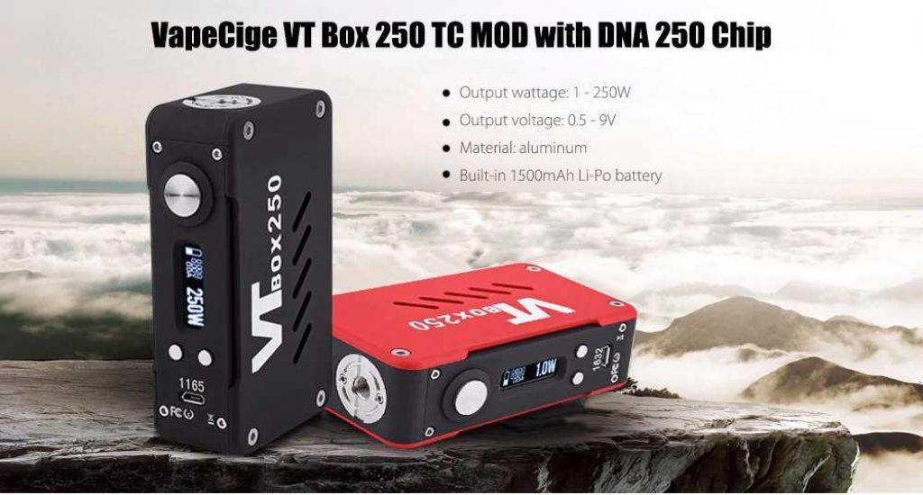 VapeCige VT Box DNA 250 EVOLV Chip Mod