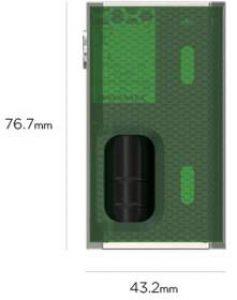 Wismec Luxotic 100W BF Squonk Box Mod parameters
