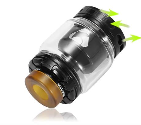 Advken MANTA RTA Bottom adjuststable airflow