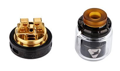 Advken MANTA RTA Dual coil design with curved posts