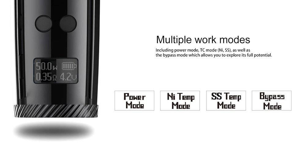 Uwell Nunchaku 80W TC VW Starter kit mod