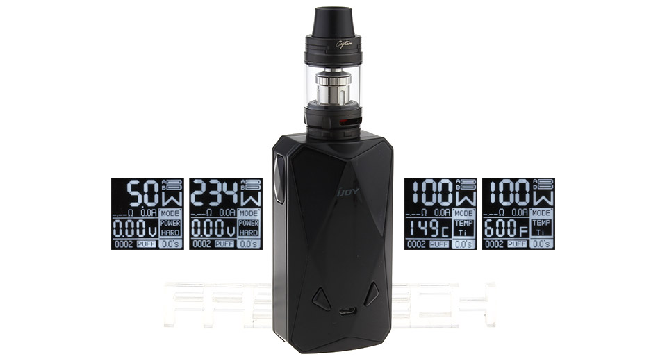 Diamond PD270 Kit By Ijoy - black cheapest in the uk specs