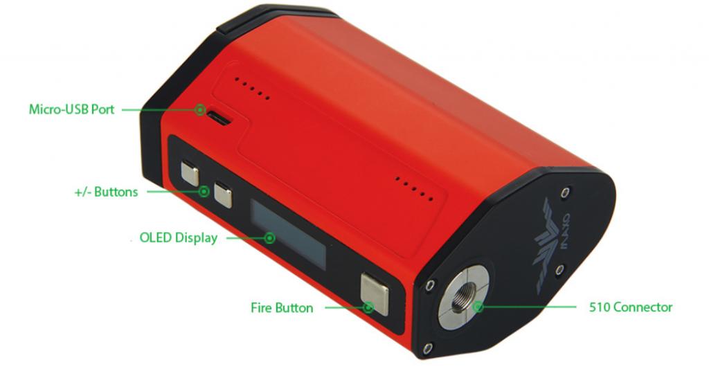 IJoy maxo 315w quad 18650 batteries, under £15,