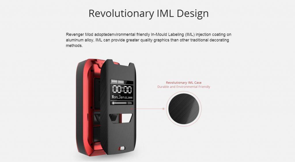 Vaporesso Revenger Mod UK IML Design