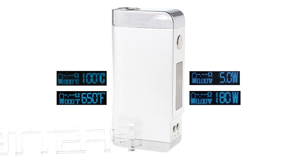 Authentic Arctic Dolphin ADT-180TC 180W Temperature Control VW APV Box Mod