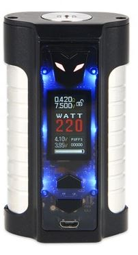 Sigelei MT 220W Box Mod Black Glitter Flashing