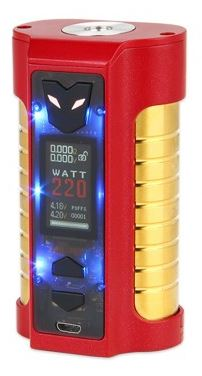 Sigelei MT 220W Box Mod Red Flashing