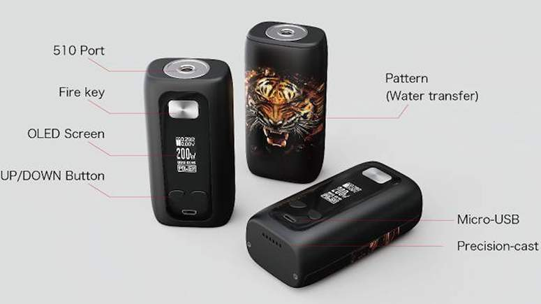 Think Vape Thor Components