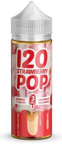 Best price for 120 Strawberry Pop by Mad Hatter UK