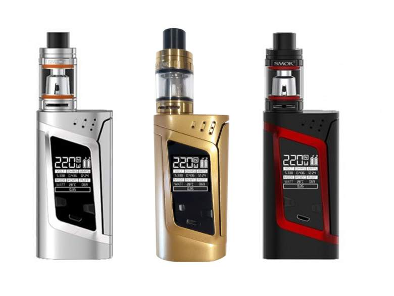 Cheapest Smok Alien 220W with 3ml TFV8 Baby Tank Deal in the UK