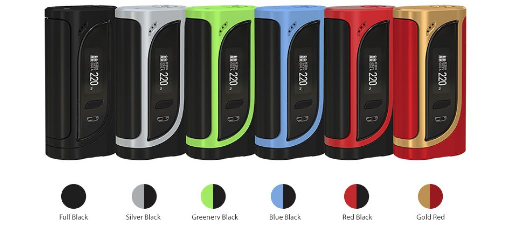 Eleaf Ikonn 220w Mod Colours