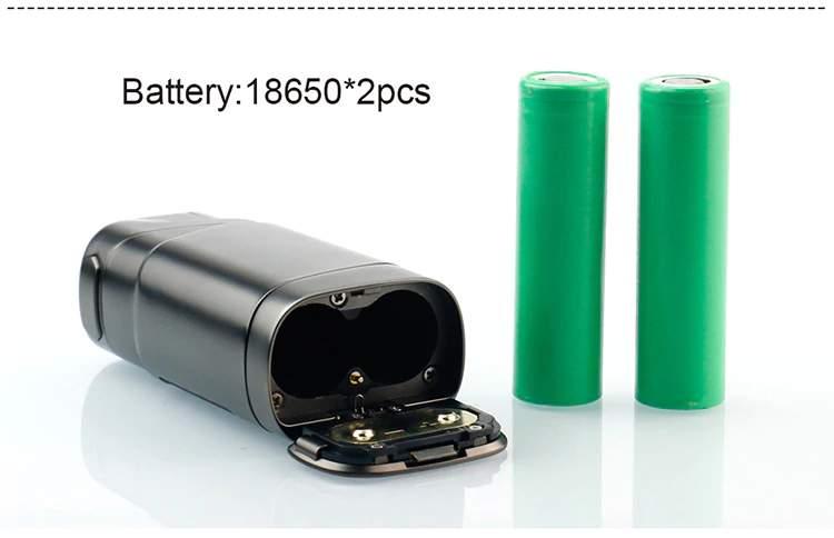 GTRS GT220 220w Box Mod 18650 x2 batteries