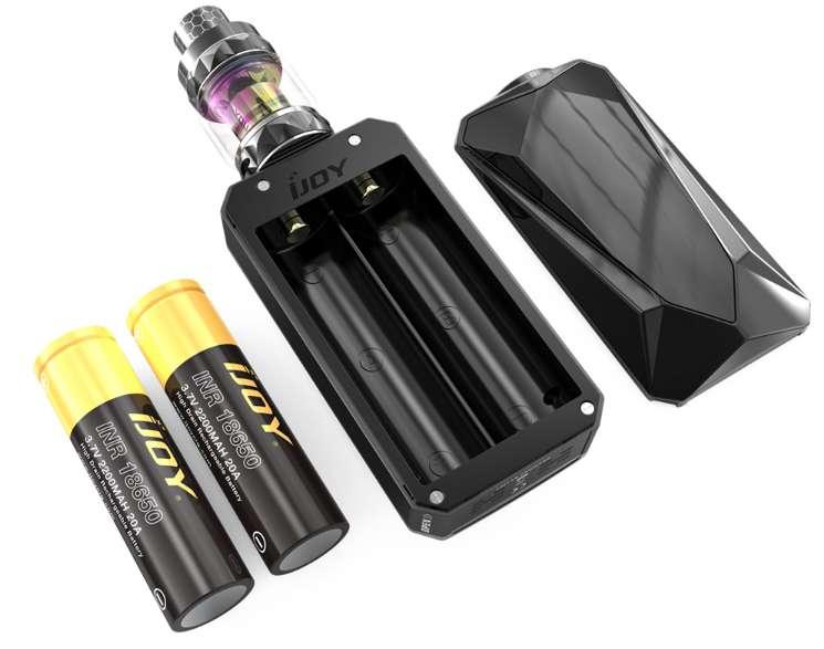ijoy diamond mini kit 18650 powered 225w mod