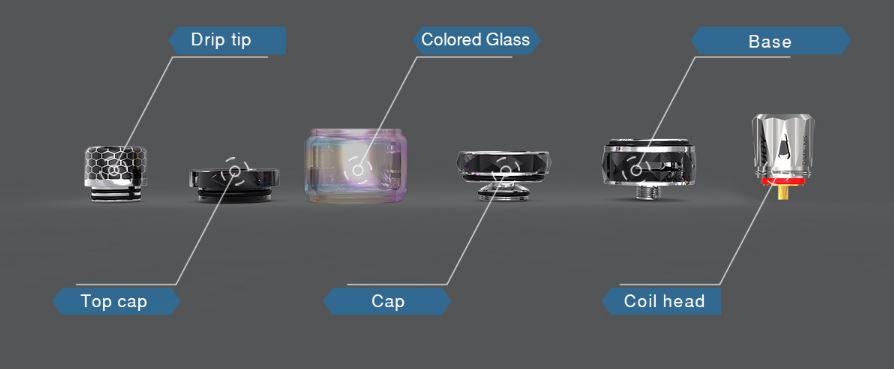 ijoy diamond mini kit components