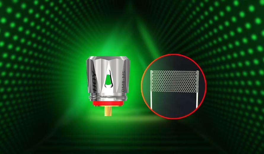 ijoy diamond mini kit tank mesh coil