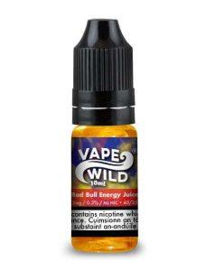 10ml VapeWild eLiquid Rad Bull Energy drink flavour