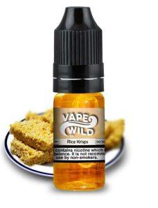 10ml VapeWild eLiquid Rice Krispsy treats deal