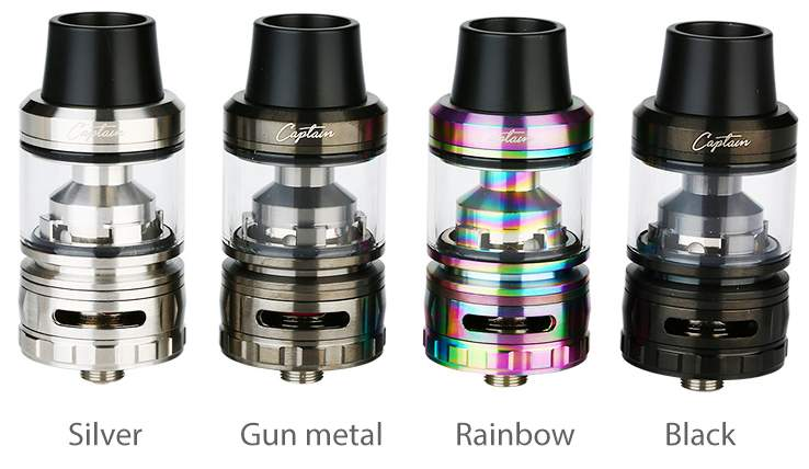 IJOY-Captain-Subohm-Tank Colours