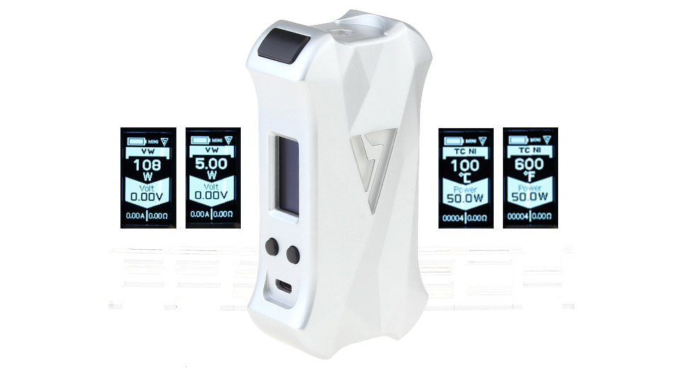 Authentic Desire X-Mini 108W TC VW APV Box Mod