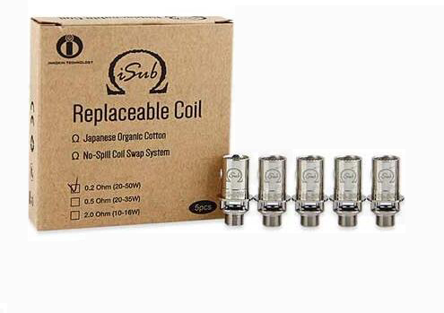 Innokin iSub Replaceable Coil 2.0ohm/0.5ohm/0.2ohm - 5pcs/pack