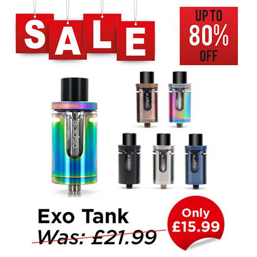 Aspire Exo Tank - £15.99 at TABlites.com