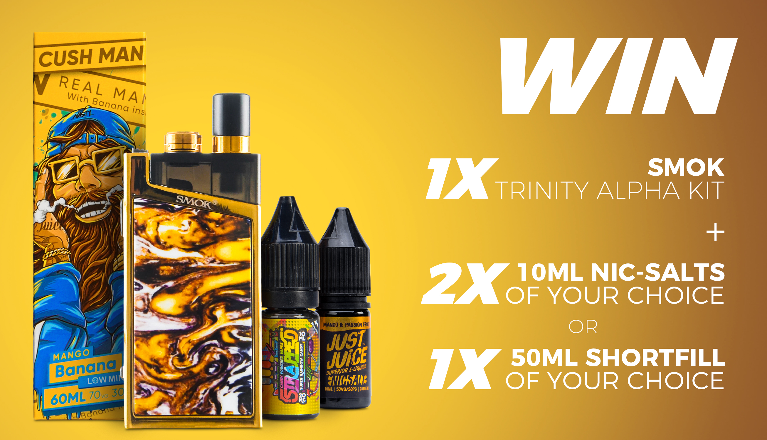 Vape Giveaways & Competitions for ELiquid, Mods & more