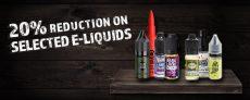 Selected E-liquids – £1.99 At Joyetech UK
