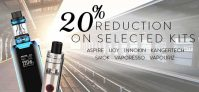 20% Off Selected E-Cig Kits At TECC