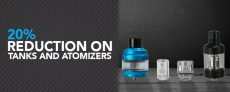 20% Reduction On Tanks & Atomizers At Joyetech UK