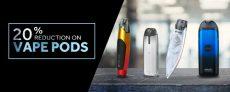 20% Reduction On Vape Pods At Joyetech UK