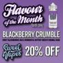 Blackberry Crumble 100ml – £7.70