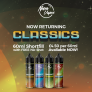 Nova Classics – 60ml Shortfill for only £4.05! Free nic shot included.