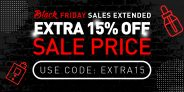 15% Extra Off Black Friday Sale
