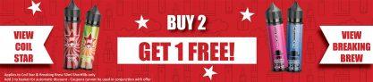 2 Get 1 Free Site Wide – £9.99