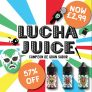 Lucha Juice 20ml Shorties – £2.99