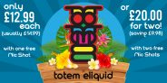 2x 50ml Totem E-Liquid Short Fills with Nic Shots – £20 (FREE delivery at TABlites)
