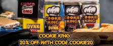 Cookie King E-Liquid 20% Off at Gourmet eLiquid